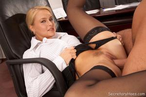 Blonde Emma gets laid at work - XXX Dessert - Picture 7