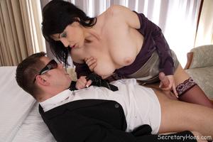Big tits Catherine office slut screws he - XXX Dessert - Picture 2