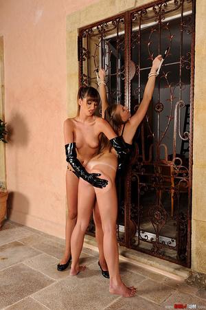 Wild babes Alise Alanis Ulrika spanking  - XXX Dessert - Picture 16