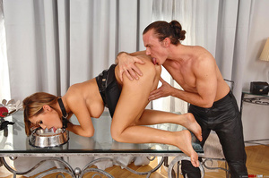 Young slim Satin Bloom gets bound and ex - XXX Dessert - Picture 12
