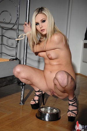 Blonde young pregnant Laura Crystal gets - XXX Dessert - Picture 2