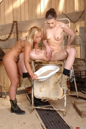 Hot Johane lets her golden piss out with - XXX Dessert - Picture 7