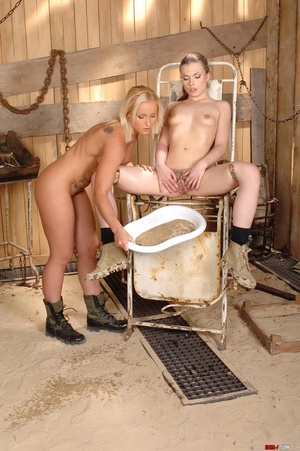 Hot Johane lets her golden piss out with - XXX Dessert - Picture 15