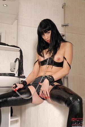 Hot kinky babe Jessica Sanchez bound in  - XXX Dessert - Picture 4