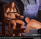 Bdsm cartoons. Sergius, this blone one's soaking wet...she's coming all