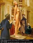 Adult bondage comics. The cruel Pasha has given his beautiful white slave