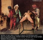 Torture drawings. Your Master's favorite pastime is to have a white slave