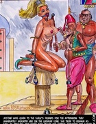 Slave girl comics. This will warm and wet your white pussy for this afternoon