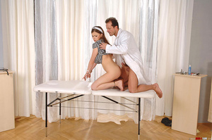 Deviant doctor exploits sweet hot girl J - XXX Dessert - Picture 1
