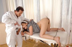 Deviant doctor exploits sweet hot girl J - XXX Dessert - Picture 1