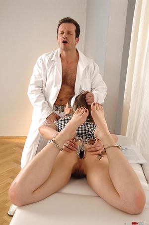 Deviant doctor exploits sweet hot girl J - XXX Dessert - Picture 4