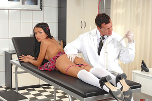 Schoolgirl Sasha Rose examined by devian - XXX Dessert - Picture 10