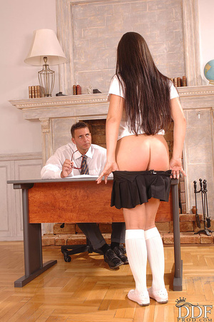 Yvette has hot anal sex in her school un - XXX Dessert - Picture 4