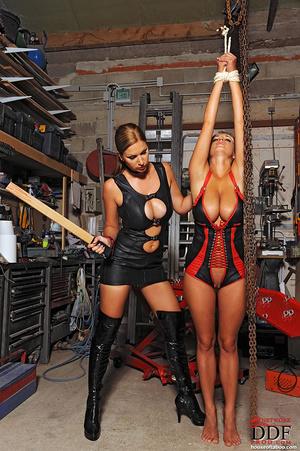 Lesbian babes Carol Jannete spanking in  - XXX Dessert - Picture 11