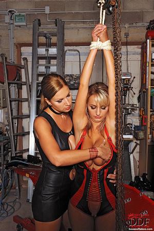 Lesbian babes Carol Jannete spanking in  - XXX Dessert - Picture 13