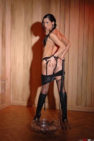 Wild dark-haired babe Sonja Black pissin - XXX Dessert - Picture 8