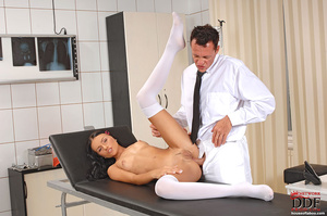 Young Sasha Rose gets examined fucked by - XXX Dessert - Picture 5