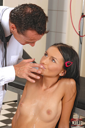 Young Sasha Rose gets examined fucked by - XXX Dessert - Picture 14