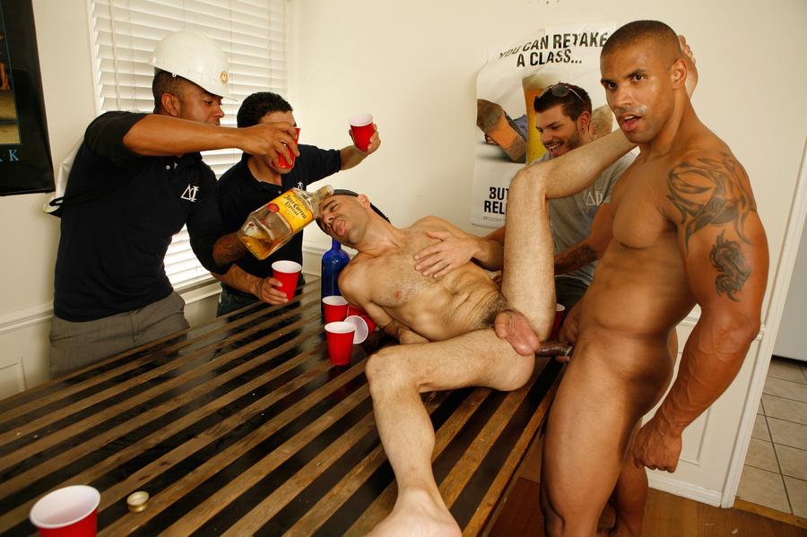 Drunk Gay Ass Banged