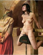 Sex slave comics. Slaves pussy stretched just the way their Master like