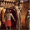 Bdsm comics. White slaves bound naked on the streets!