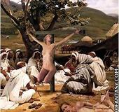 Bdsm art toons. White slave gonna be gang-banged in the desert!