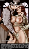 Bdsm comics. Sit on my lap and milk my prick with your slave's pussy!