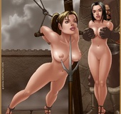 Slave girl. She knew this girl would make an exceptional pony once properly