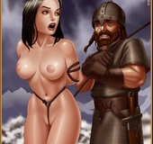Bdsm art toons. Feel the rope, bitch? Please,my lord, stop toturing us..I