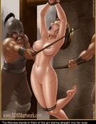 Submission art. Then the mongols begin the flagellation of the arrogant