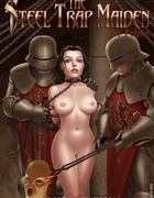 Slave art. The dark forces want to enter your big dick in small pussy.