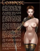 Slave comics. You will not find girls dressed with small tits.