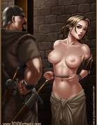 Slave comics. She was a tall, beautiful woman, but perhaps a bit too old
