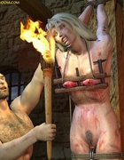 Slave girl comics. Inquisitor knows a lot of torture ...