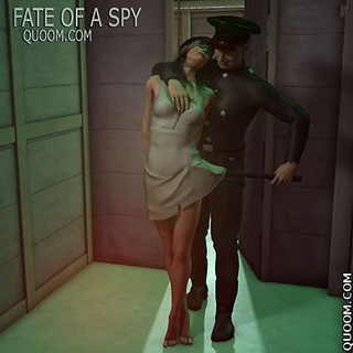 Bondage toons. Fate Of A Spy, nails, hammers, ropes.