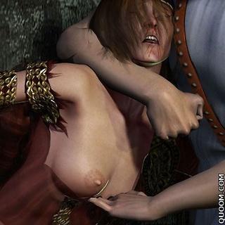 Submission comics. Princess with big tits nice humble King!
