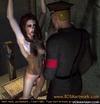 Bdsm comics. Gestapos offcier humiliates his victim girl!