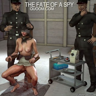 Bdsm comics. Captured spy girl humiliated by intelligence!