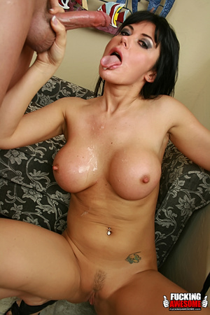Eva Karera sticks her tongue out for a s - XXX Dessert - Picture 14