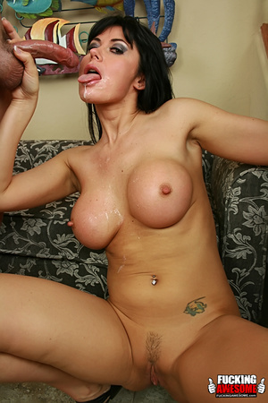 Eva Karera sticks her tongue out for a s - XXX Dessert - Picture 16