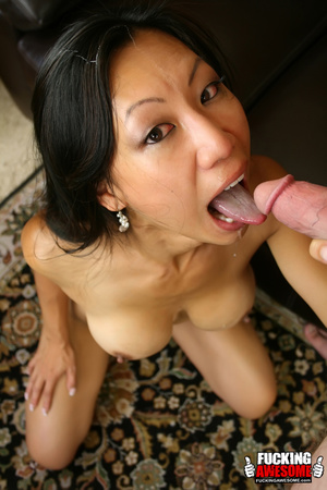 Tia Ling pukes out saliva from gagging a - XXX Dessert - Picture 14