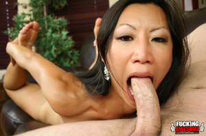 Tia Ling lets her head get pushed on the - XXX Dessert - Picture 8