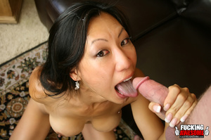 Tia Ling lets her head get pushed on the - XXX Dessert - Picture 16