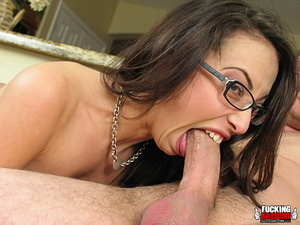 Veronica Jett swallows cock for some dee - XXX Dessert - Picture 6
