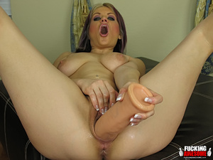 Tyla Wynn gets kinky with her giant dild - XXX Dessert - Picture 13