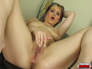 Tyla Wynn gets kinky with her giant dild - XXX Dessert - Picture 15