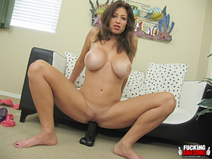 Lucky Benton's sleazy dildo-fucking and  - XXX Dessert - Picture 7