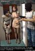 Slave comics. Girls remove their clothes at gun point!