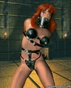 Submission comics. Redhead slave girl tied up in the basement!