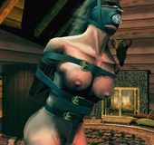 Sado comic. Slave sale - two for one!